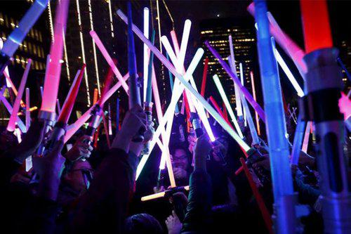 Glow Sword Battle NYC (at Washington Square Park)