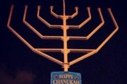 Largest Menorah in the World (at Prospect Park)
